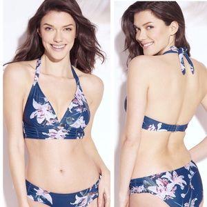 NWT Kona Sol Ruched Bikini
